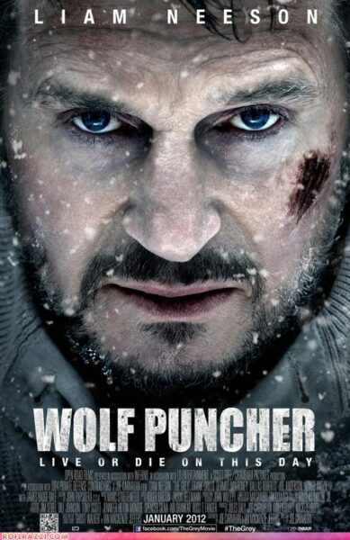 The grey liam neeson wolf puncher